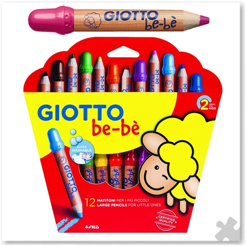 Giotto Be-Be 12 Super Large Pencils